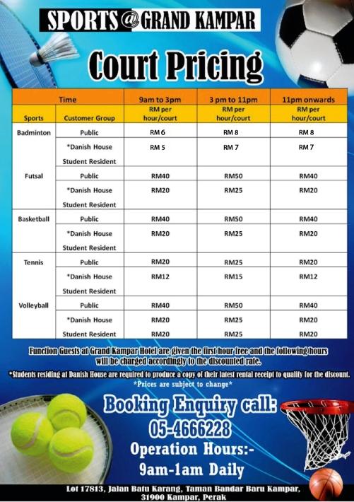 SPC Price List