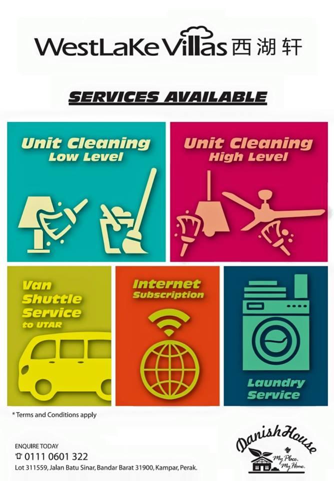 Westlake Villas Services Available