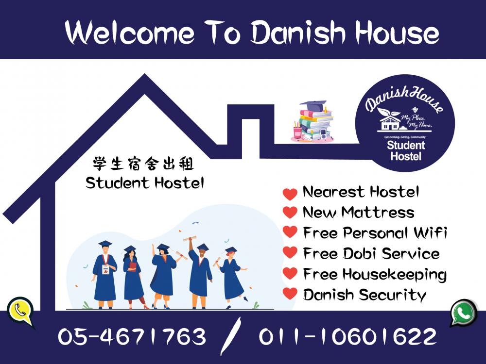 Nearest hostel, New Mattress, Now call us.